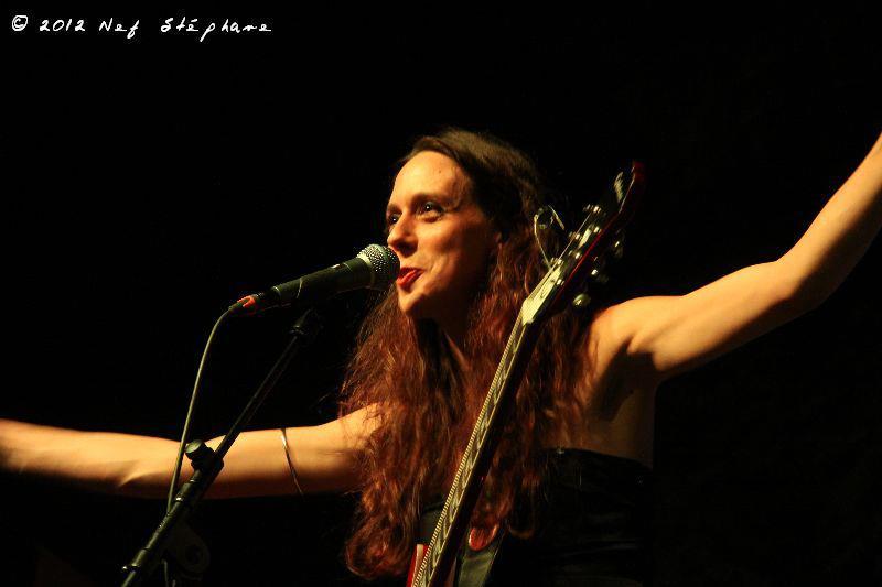 Nuit du Blues Tournai (BEL) 2011 - Tia and the Patient Wolves - Photo Nef Stéphane