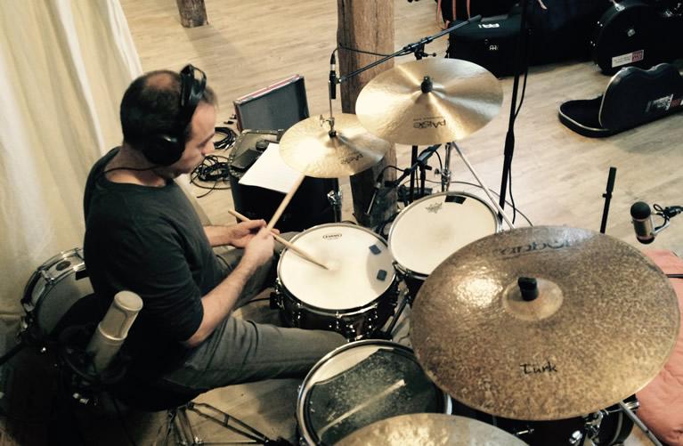 Recording new album - Francis Arnaud