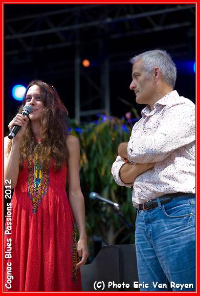 Cognac Blues Passions Award (FRA) 2012 - Tia - Photo Eric Van Royen