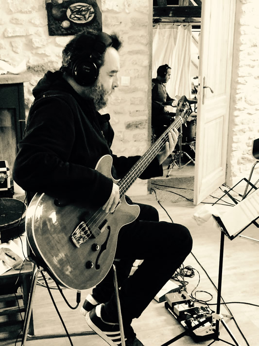 Recording new album - Francis Arnaud, Laurent Cokelaere