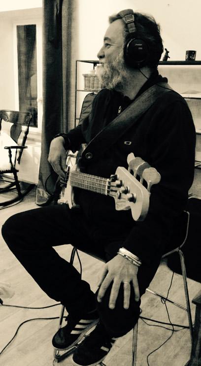 Recording new album - Laurent Cokelaere