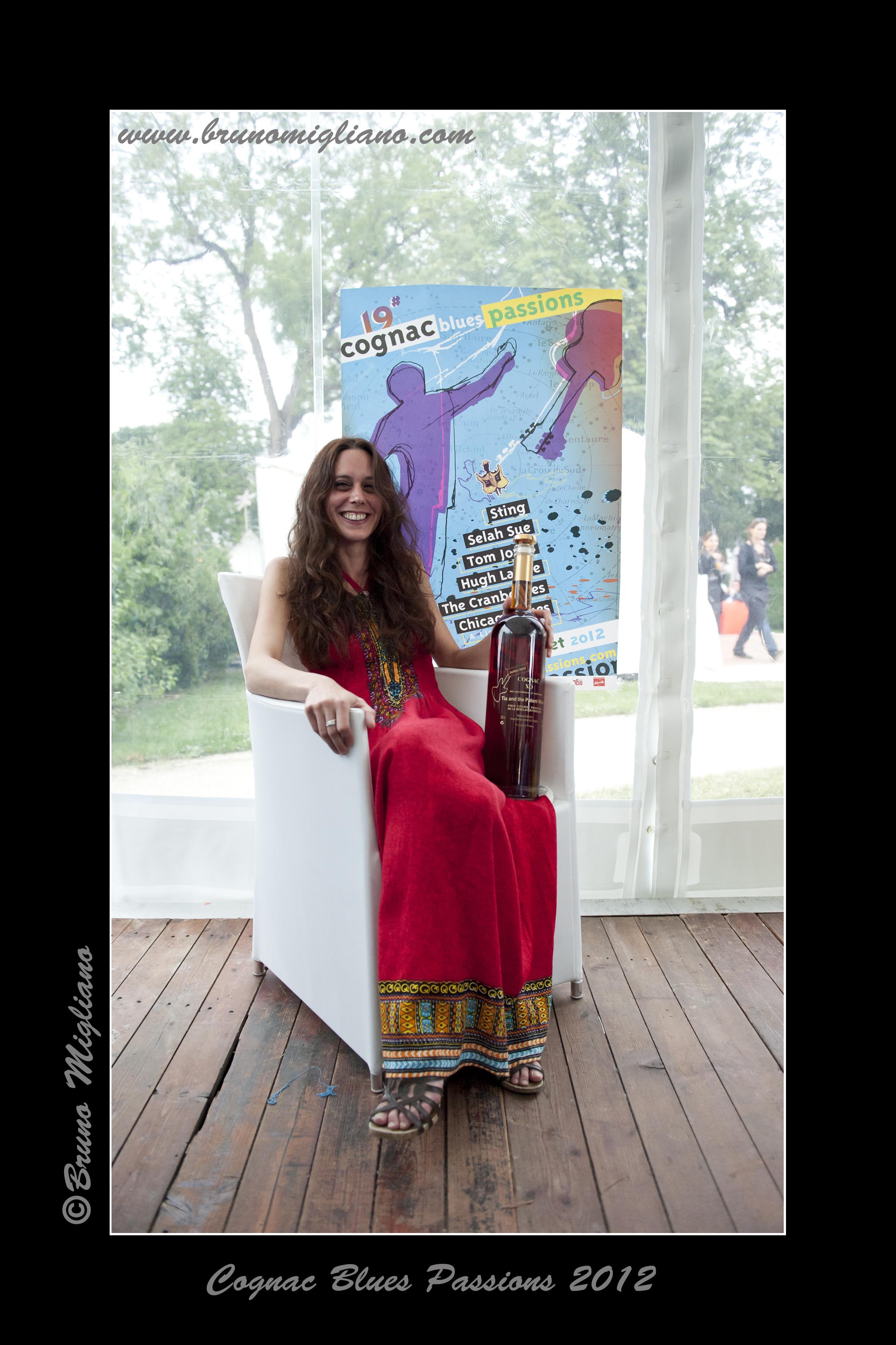 Cognac Blues Passions Award (FRA) 2012 - Tia - Photo Bruno Migliano