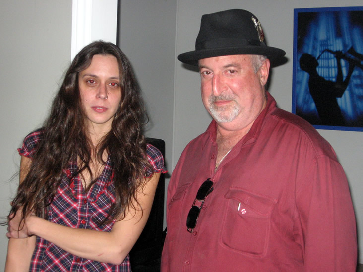 Los Angeles (USA) 2009 with Fred Kaplan 2
