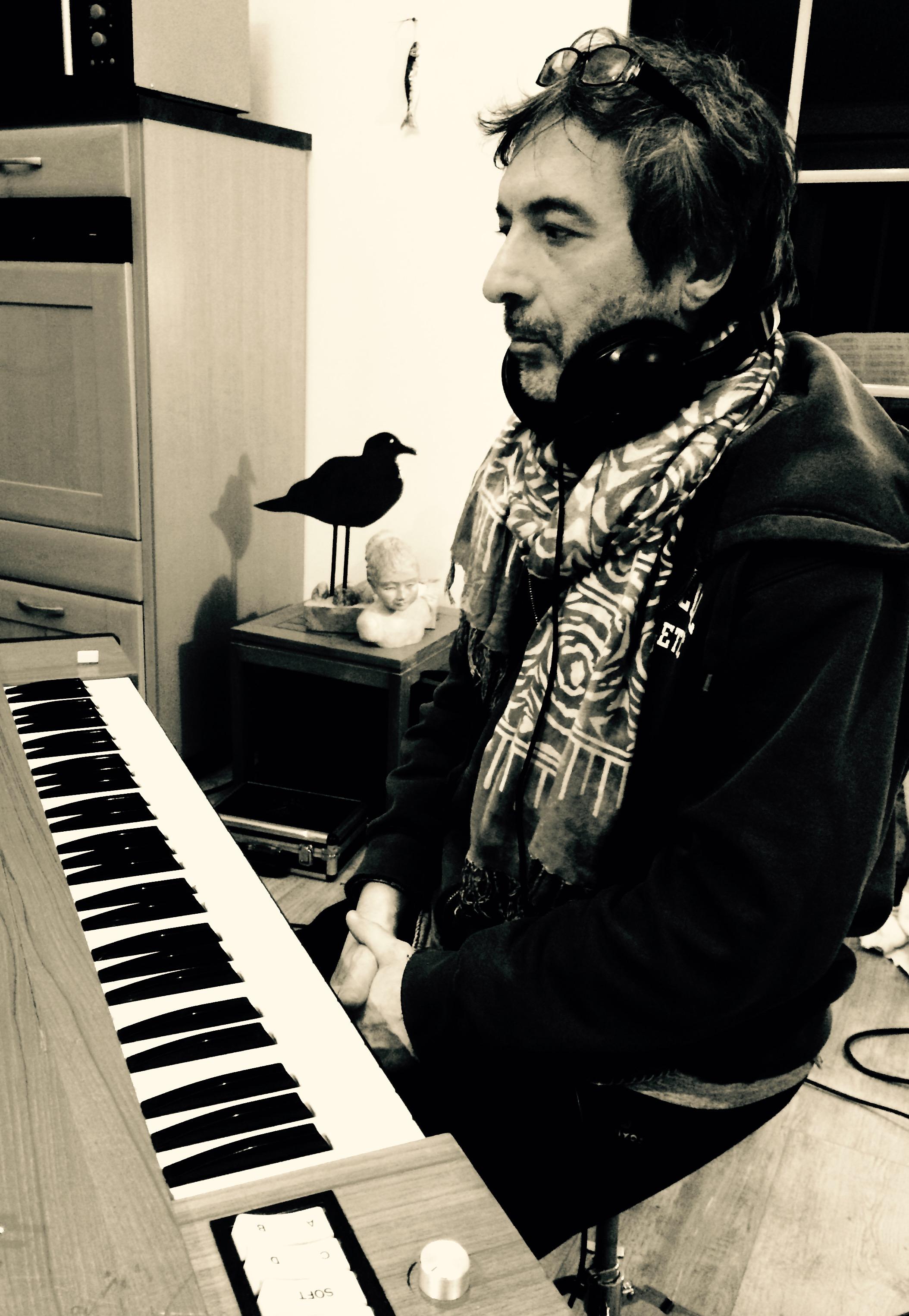 Recording new album - Emmanuel Borghi