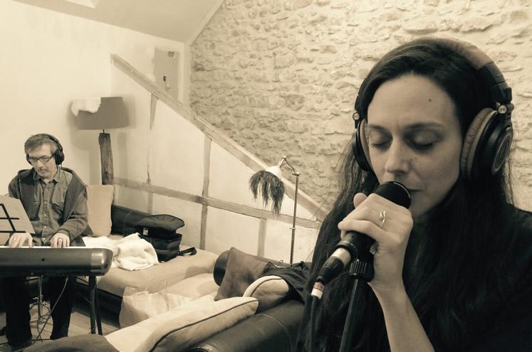 Recording new album - Emmanuel Borghi, Tia