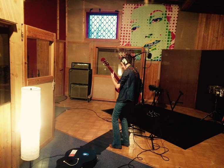 Recording new album - Studio Palissy