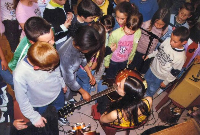 Ecole dans l'Allier (FRA) 2005