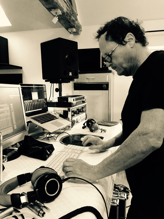 Recording new album - Pierre Bianchi