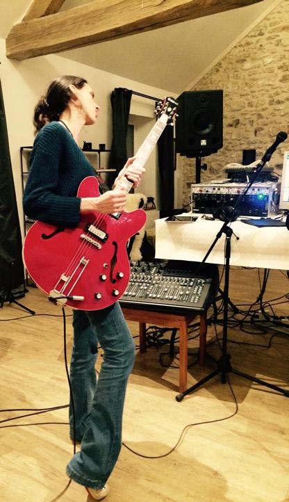 Recording new album - Tia