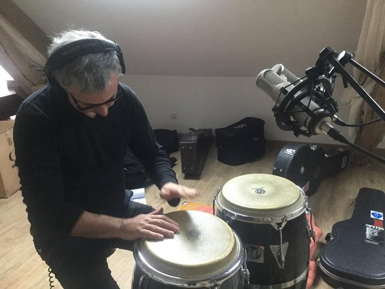 Recording new album - Marc Glomeau
